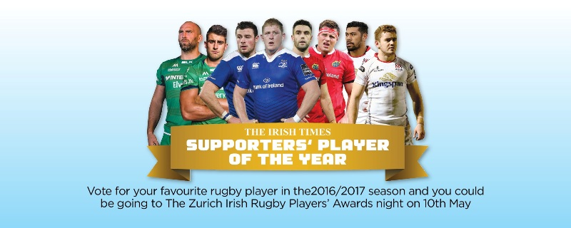 VOTE:<br>SUPPORTERS&#8217; PLAYER OF THE YEAR 2017