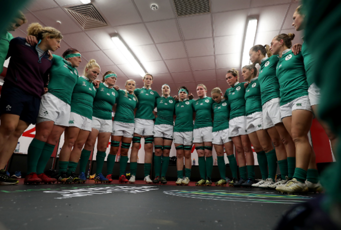 RUGBY PLAYERS IRELAND TO HELP SHAPE FUTURE DIRECTION OF WOMEN'S GAME