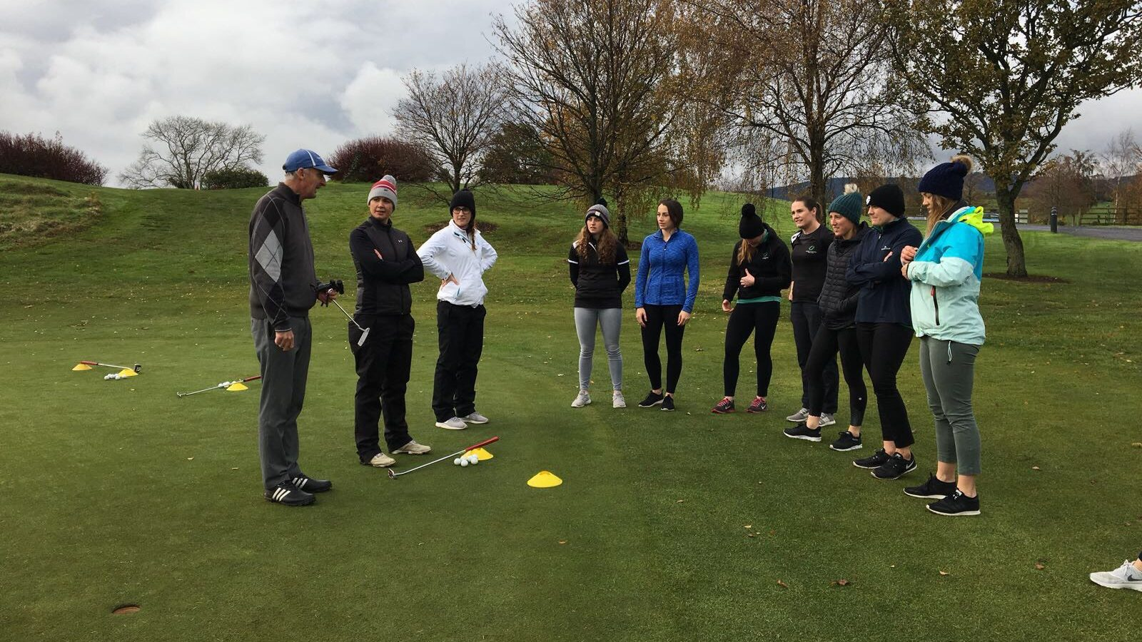 DRUIDS GLEN GOLF CLINIC