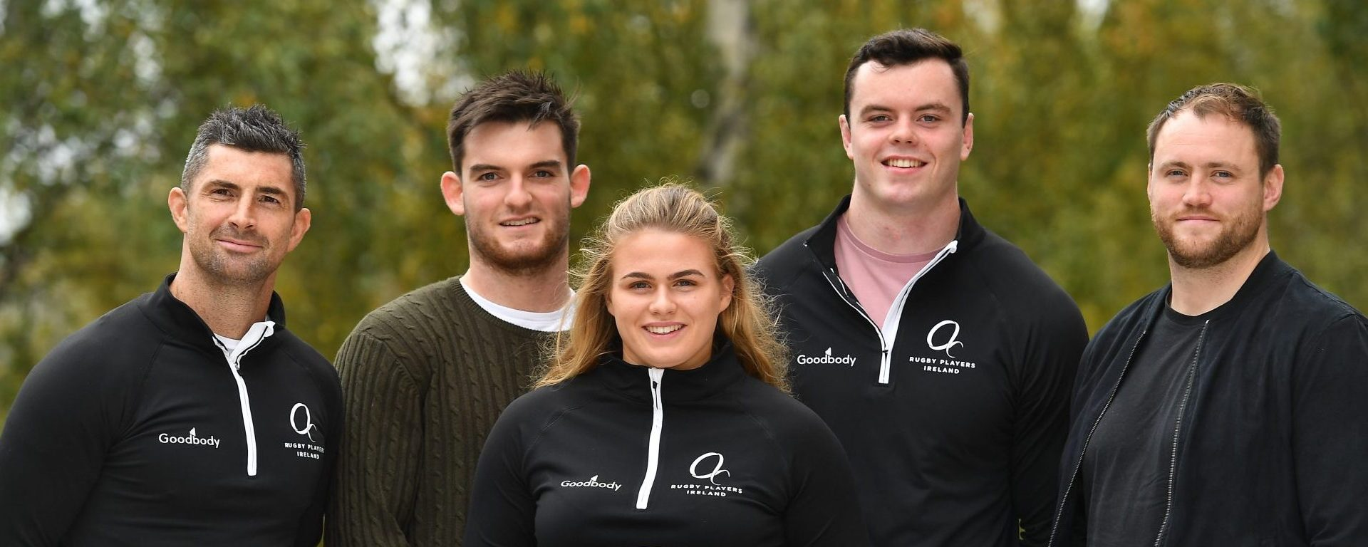 GOODBODY AND RUGBY PLAYERS IRELAND ANNOUNCE NEW PARTNERSHIP