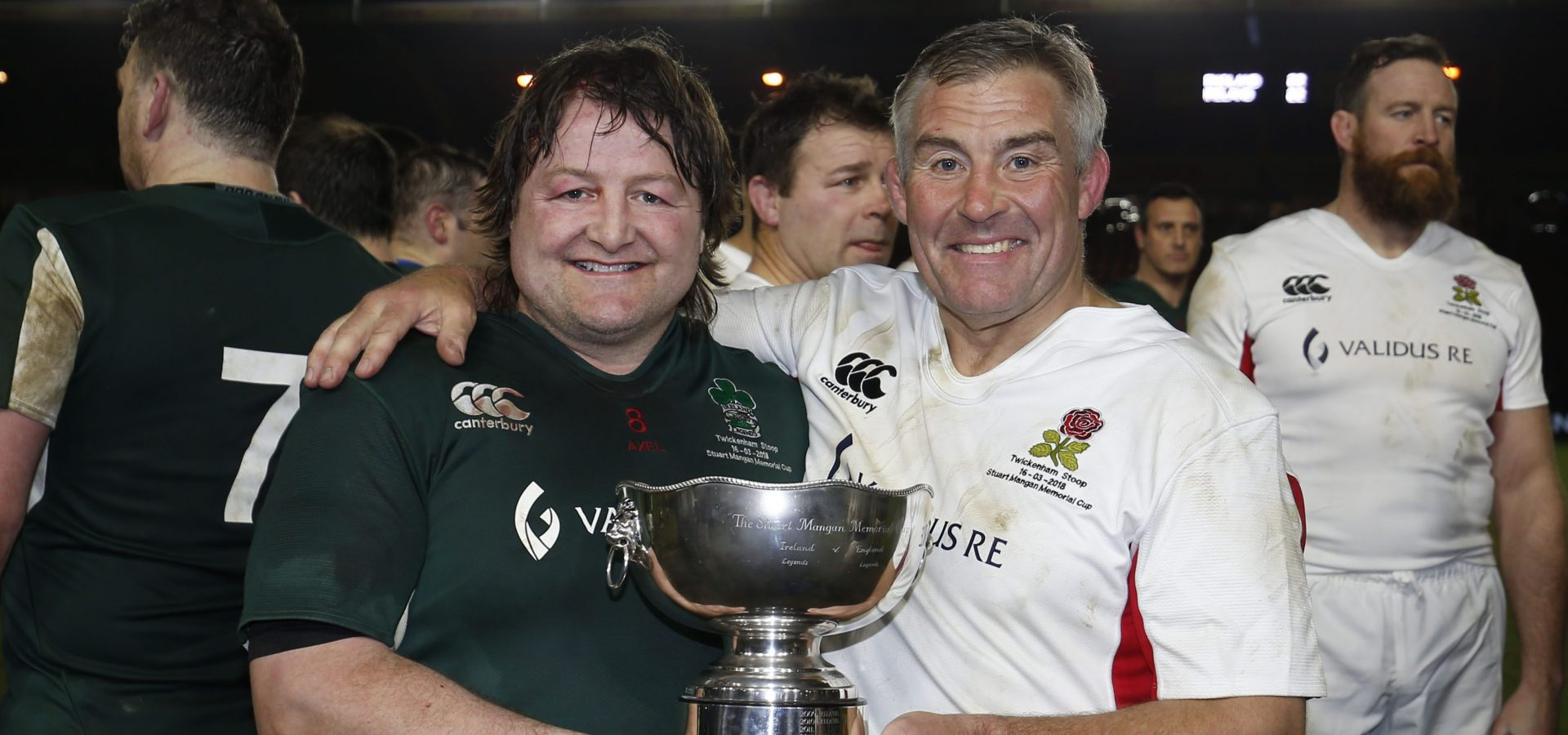 RUGBY LEGENDS TO HELP RUGBY GREAT