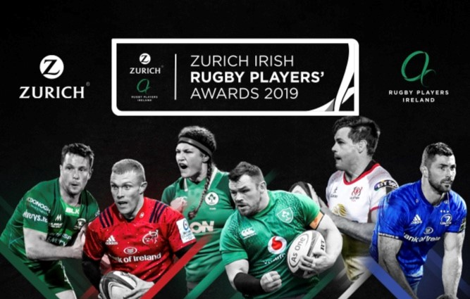THE ZURICH IRISH RUGBY PLAYERS' AWARDS 2019
