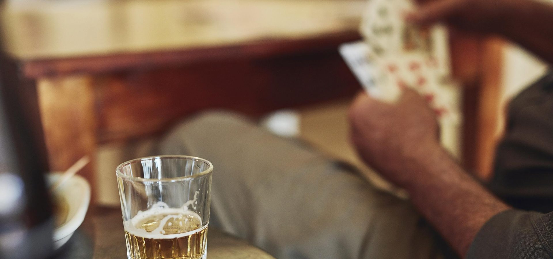 Stay Safe at Home, but Alcohol is not a Coping Mechanism