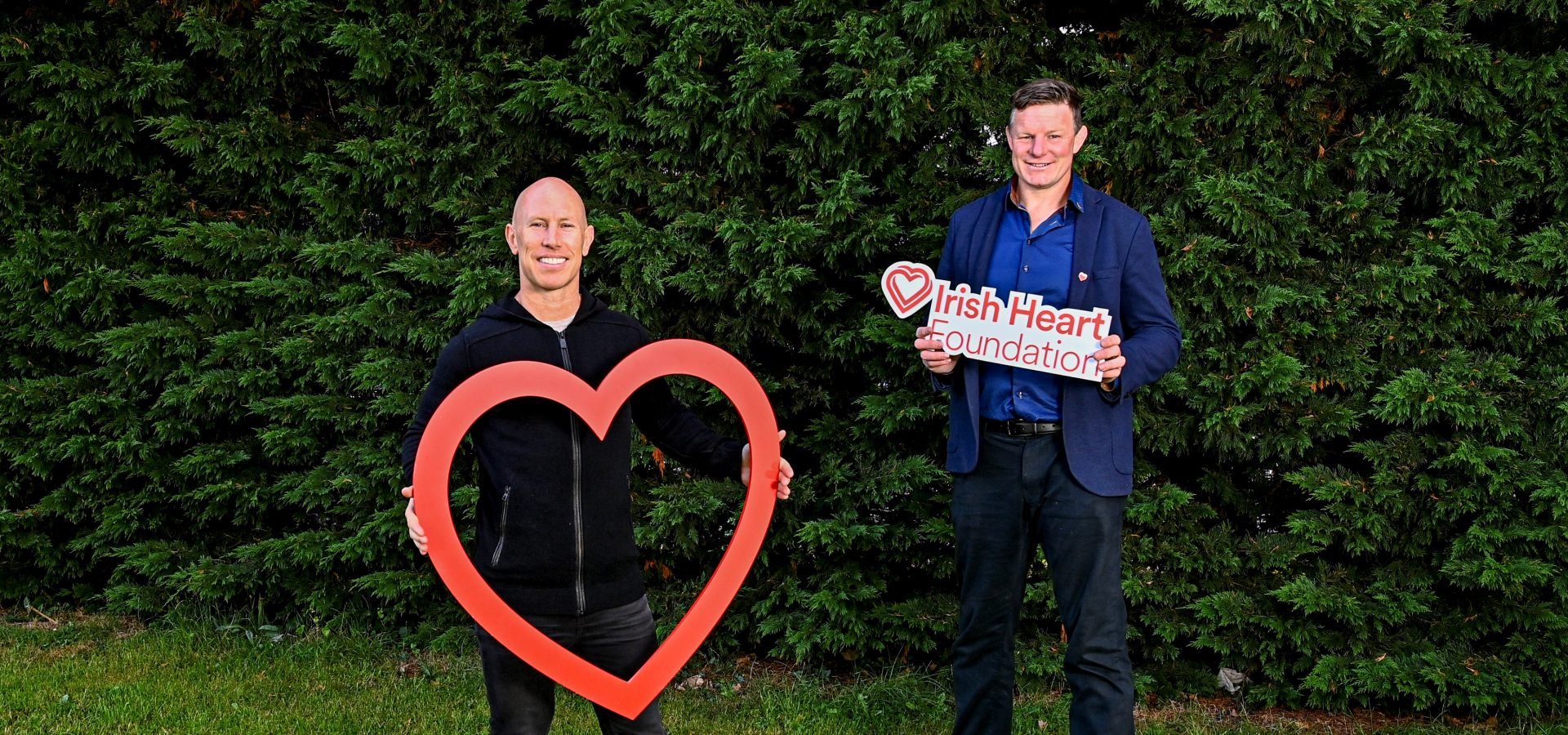 Past Players join Irish Heart Foundation for Reboot Campaign